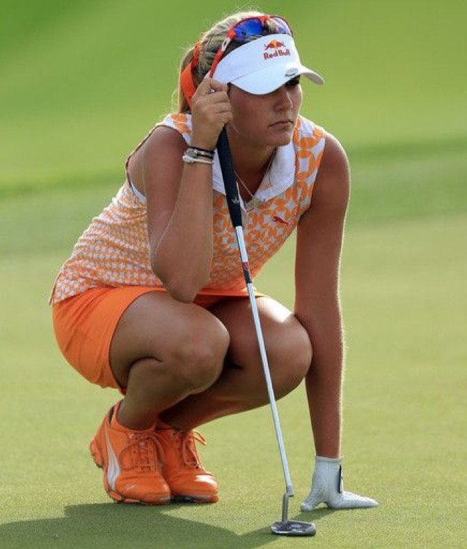 Lexi Thompson - golf - analyse de green