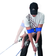 longridge-power-band-bande-dentrainement-golf-bleu