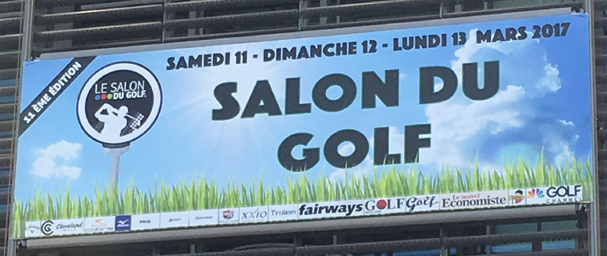 Salon du Golf 2017 Porte de Versailles Paris